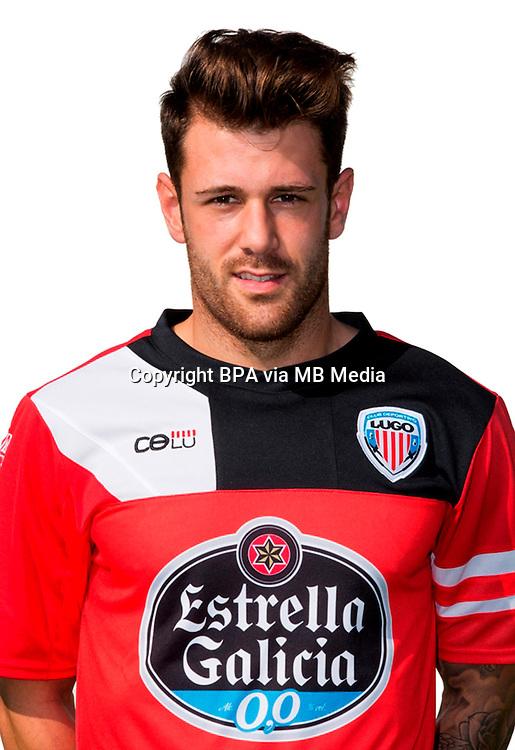 Spain - La Liga Adelante 2014-2015 / <br /> ( C.D. Lugo ) - <br /> Jon Garcia Herrero