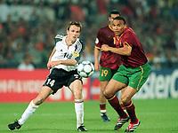 Fotball<br /> EM 2000 - Euro 2000<br /> Foto: Witters/Digitalsport<br /> NORWAY ONLY<br /> <br /> Dietmar HAMANN<br /> VIDIGAL<br /> Tyskland v Portugal  0:3