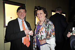NICHOLAS SNOWMAN and SUZY MENKES at a private view of Japonisme: From Falize to Faberge held at Wartski, 14 Grafton Street, London on 10th May 2011.