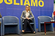 Roma, 29 Marzo 2015<br /> Convention di Forza Italia: Roma l'Italia e l'Europa che vogliamo. Deborah Bergamini, responsabile comunicazione di Forza Italia.<br /> Rome, March 29, 2015<br /> Convention  of Forza Italy: Rome the Italy and Europe that we want. Deborah Bergamini, communications manager of Forza Italy.