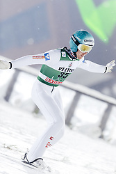 February 8, 2019 - Lahti, Finland - Michael Hayböck participates in FIS Ski Jumping World Cup Large Hill Individual training at Lahti Ski Games in Lahti, Finland on 8 February 2019. (Credit Image: © Antti Yrjonen/NurPhoto via ZUMA Press)