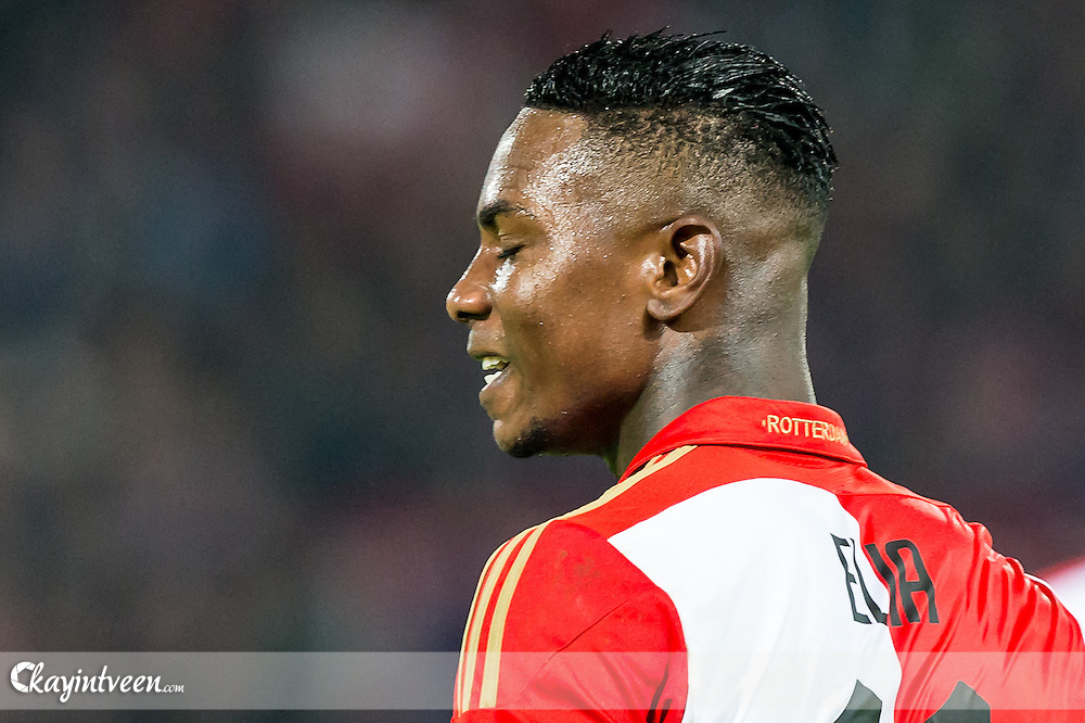 ROTTERDAM - Feyenoord - Ajax , Voetbal , KNVB Beker , Seizoen 2015/2016 , Stadion de Kuip , 25-10-2015 , Speler van Feyenoord Eljero Elia baalt van gemiste kans