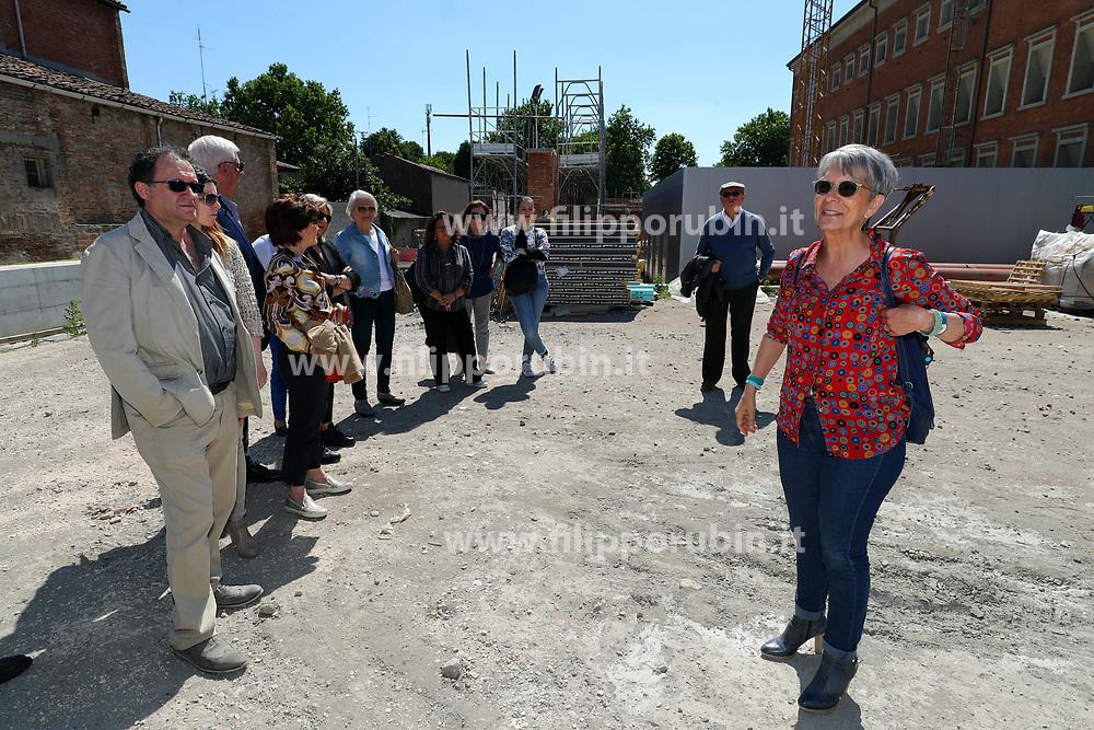 CARLA DI FRANCESCO<br /> VISITA NUOVA PARTE MUSEO MEIS