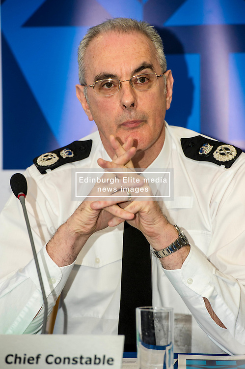 Pictured: Chief Constable Phil Gormley<br /> <br /> At Police Scotland HQ at Fettes Row in Edinburgh today , Chief Constable Phil Gormley and Scottish Police Authority (SPA) Chairman Andrew Flanagan launched a long-term strategy for policing and a public consultation to help shape it.  <br /> <br /> Ger Harley   EEm 27 February 2017