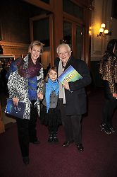 SIR & LADY DAVID JASON and their daughter SOPHIE at the opening night of Totem by Cirque du Soleil held at The Royal Albert Hall, London on 5th January 2011.