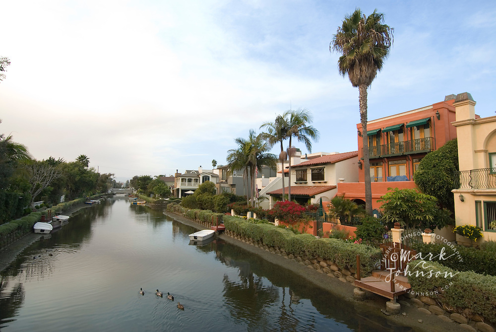 Canals of Venice Beach, Los Angeles, California