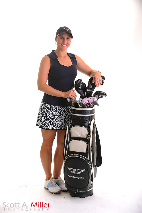 Melissa Eaton-Jackson during a portrait shoot prior to the Symetra Tour's Florida's Natural Charity Classic at the Lake Region Yacht and Country Club on March 21, 2012 in Winter Haven, Fla. ..©2012 Scott A. Miller.