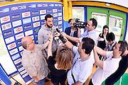 BOLOGNA, 02 GIUGNO 2016<br /> PRE RADUNO NAZIONALE ITALIANA MASCHILE <br /> ALLENAMENTO <br /> NELLA FOTO: marco belinelli<br /> FOTO CIAMILLO