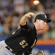 NEW YORK, NEW YORK - June 15: Pitcher Rob Scahill #52 of the Pittsburgh Pirates pitching during the Pittsburgh Pirates Vs New York Mets regular season MLB game at Citi Field on June 15, 2016 in New York City. (Photo by Tim Clayton/Corbis via Getty Images)