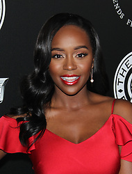 "The Art of Elysium 11th Annual Black Tie Artistic Experience ""Heaven"". 06 Jan 2018 Pictured: Aja Naomi King. Photo credit: Jaxon / MEGA TheMegaAgency.com +1 888 505 6342"