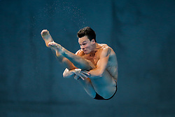 Patrick Hausding of Germany in action during the Mens 3m Springboard Preliminary - Mandatory byline: Rogan Thomson/JMP - 12/05/2016 - DIVING - London Aquatics Centre - Stratford, London, England - LEN European Aquatics Championships 2016 Day 4.