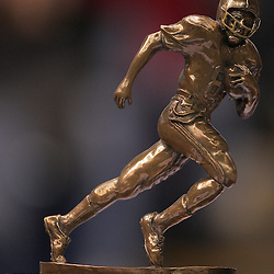 21 December 2008: A close up of the New Orleans Bowl MVP trophy that was won by Southern Miss quarterback Austin Davis (12) during a 30-27 overtime victory over the Troy Trojans in the  R+L Carriers New Orleans Bowl at the New Orleans Superdome in New Orleans, LA.