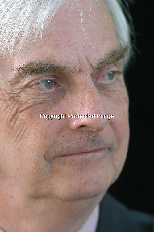 British writer and scientist Professor Hugh Pennington at the Edinburgh International Book Festival 2004.<br /> <br /> Copyright Pascal Saez<br /> Pascal Saez / Writer Pictures