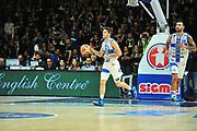 DESCRIZIONE : Campionato 2014/15 Dinamo Banco di Sardegna Sassari - Victoria Libertas Consultinvest Pesaro<br /> GIOCATORE : Enrico Merella<br /> CATEGORIA : Palleggio<br /> SQUADRA : Dinamo Banco di Sardegna Sassari<br /> EVENTO : LegaBasket Serie A Beko 2014/2015<br /> GARA : Dinamo Banco di Sardegna Sassari - Victoria Libertas Consultinvest Pesaro<br /> DATA : 17/11/2014<br /> SPORT : Pallacanestro <br /> AUTORE : Agenzia Ciamillo-Castoria / M.Turrini<br /> Galleria : LegaBasket Serie A Beko 2014/2015<br /> Fotonotizia : Campionato 2014/15 Dinamo Banco di Sardegna Sassari - Victoria Libertas Consultinvest Pesaro<br /> Predefinita :