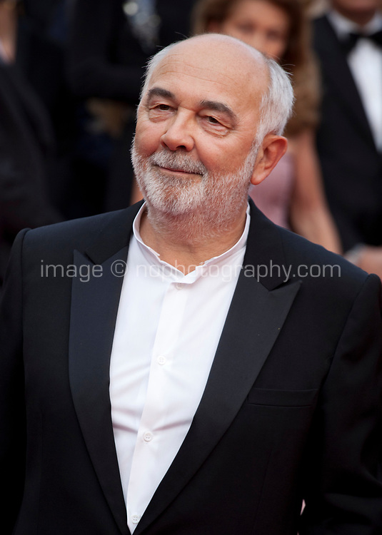 Gerard Junot at Twin Peaks gala screening at the 70th Cannes Film Festival Thursday 25th May 2017, Cannes, France. Photo credit: Doreen Kennedy