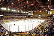 Alaska. Anchorage, Sullivan Arena,  Anchorage Aces, hockey  game