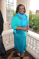 DIANE ABBOTT MP at the launch of Politics and The City - a new web site for women fusing politics with gossip, entertainment, news and fashion, held at the ICA, 12 Carlton House Terrace, London on 8th July 2008.<br />