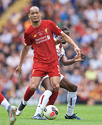 BRADFORD, ENGLAND - Saturday, July 13, 2019: Liverpool's Fabio Henrique Tavares 'Fabinho' during a pre-season friendly match between Bradford City AFC and Liverpool FC at Valley Parade. (Pic by David Rawcliffe/Propaganda)