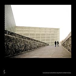 Palacio de Congresos y Auditorio Kursaal. San Sebastián.<br /> Arquitecto Rafael Moneo.