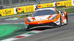 September 22, 2018 - RS Racing (Di Amato/Montermini) on the inner curb at Ascari during Qualifying session for Race 1 of International GT Open in Monza. (Credit Image: © Riccardo Righetti/ZUMA Wire)