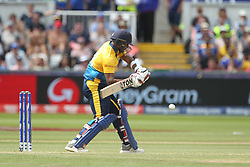 July 1, 2019 - Chester Le Street, County Durham, United Kingdom - Avishka Fernando of Sri Lanka batting during the ICC Cricket World Cup 2019 match between Sri Lanka and West Indies at Emirates Riverside, Chester le Street on Monday 1st July 2019. (Credit Image: © Mi News/NurPhoto via ZUMA Press)