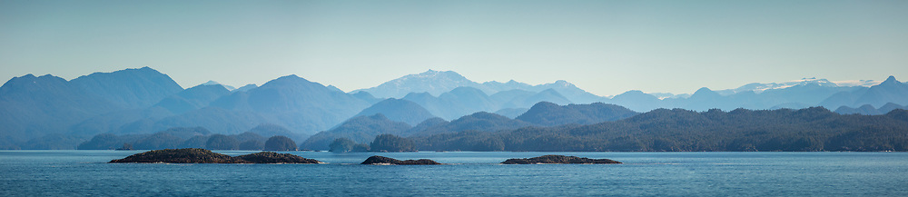 View of mainland B.C. from the ferry.