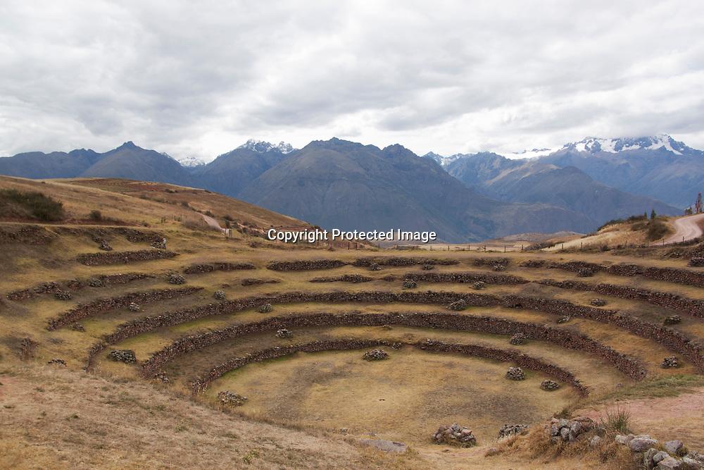 Moray Ruins; Maras, Peru