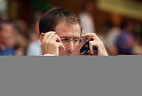 Photo: Chris Ratcliffe.<br /> Norwich City v Newcastle United. Pre Season Friendly. 26/07/2006.<br /> Glenn Roeder, manager of Newcastle adjusts his glasses.