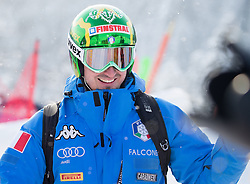 17.01.2017, Hahnenkamm, Kitzbühel, AUT, FIS Weltcup Ski Alpin, Kitzbuehel, Abfahrt, Herren, Streckenbesichtigung, im Bild Dominik Paris (ITA) // Dominik Paris of Italy during the course inspection for the men's downhill of FIS Ski Alpine World Cup at the Hahnenkamm in Kitzbühel, Austria on 2017/01/17. EXPA Pictures © 2017, PhotoCredit: EXPA/ Johann Groder
