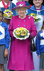 APR 17 2014 The Queen and Duke of Edinburgh attend the Royal Maundy Service