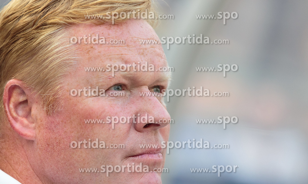 11.07.2015, Red Bull Arena, Salzburg, AUT, Audi Quattro Cup, Halbfinale, FC Valencia vs FC Southampton, im Bild Ronald Koeman (Trainer, FC Southampton) // during the Audi Quattro Cup Semi Final Match between Valencia CF and Southampton FC at the Red Bull Arena, Salzburg on 2015/07/11. EXPA Pictures © 2015, PhotoCredit: EXPA/ JFK
