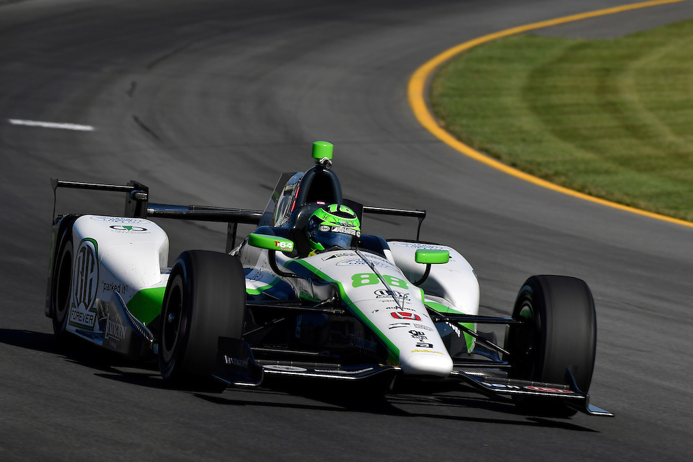 20-21 August, 2016, Long Pond, Pennsylvania USA<br /> Conor Daly<br /> &copy;2016, Scott R LePage <br /> LAT Photo USA