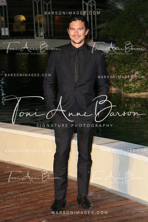 """MONTE-CARLO, MONACO - JUNE 10:  Luke Arnold attends """"Black Sails STARZ"""" Party  at the Monte Carlo Bay Hotel on June 10, 2014 in Monte-Carlo, Monaco.  (Photo by Tony Barson/FilmMagic)"""