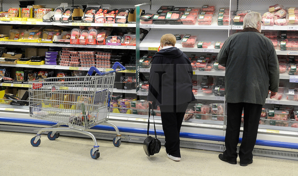 © London News Pictures. 15_02_2011. FILE PICTURE. The UK Consumer Prices Index (CPI) annual inflation rate rose to 4% in January, up from 3.7% in December, as the effects of the VAT rise were felt. Higher oil prices also meant inflation remained well above the 2% target. Retail Prices Index (RPI) inflation - which includes mortgage interest payments - rose to 5.1% from 4.8%. Picture credit should read Grant Falvey/London News Pictures...