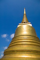 Stupa at Golden Mount Wat Saket Bangkok Thailand&#xA;<br />