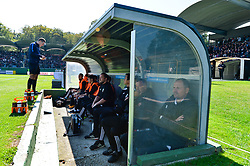 Bench of NS Mura during football match between NS Mura and NK Maribor in 10th Round of Prva liga Telekom Slovenije 2018/19, on September 30, 2018 in Mestni stadion Fazanerija, Murska Sobota, Slovenia. Photo by Mario Horvat / Sportida