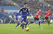 Cardiff City striker, Tom Lawrence (37) during the Sky Bet Championship match between Cardiff City and Brighton and Hove Albion at the Cardiff City Stadium, Cardiff, Wales on 20 February 2016.
