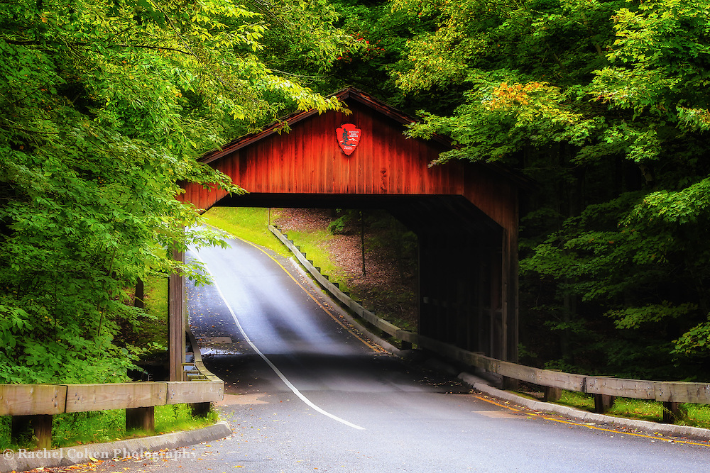 &quot;Pierce Stocking Covered Bridge&quot;<br />