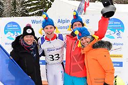 Super Combined and Super G, BAUCHET Arthur, LW3, FRA at the WPAS_2019 Alpine Skiing World Championships, Kranjska Gora, Slovenia