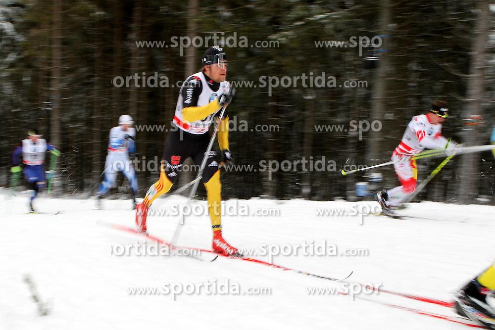 31.12.2011, DKB-Ski-ARENA, Oberhof, GER, Viessmann Tour de Ski 2011, FIS Langlauf Weltcup, Verfolgung Herren, im Bild Franz Goering (GER) // during men's pursuitof Viessmann Tour de Ski 2011 FIS World Cup Cross Country at DKB-SKI-Arena Oberhof, Germany on 2011/12/31. EXPA Pictures © 2011, PhotoCredit: EXPA/ nph/ Hessland..***** ATTENTION - OUT OF GER, CRO *****