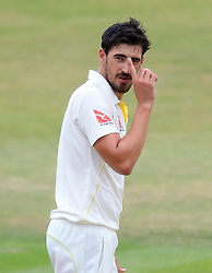 File photo dated 02-07-2015 of Australia's Mitchell Starc during the tour match at the Essex County Ground, Chelmsford.