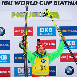 20161209: SLO, Biathlon - IBU Biathlon World Cup Pokljuka, Women 7,5 k Sprint