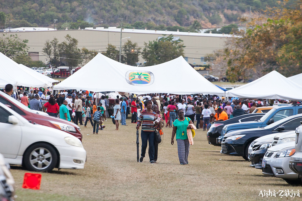 "The University of the Virgin Islands hosts ""A Centennial Celebration of Delicacies for the Afternoon on the Green 2017 in celebration of the Virgin Islands Centennial and UVI's 55th anniversary.  Herman E. Moore Golf Course.  University of the Virgin Islands.  19 March 2017.  © Aisha-Zakiya Boyd"