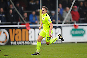 Charlie Cooper (31) of York City during the Vanarama National League match between Eastleigh and York City at Arena Stadium, Eastleigh, United Kingdom on 12 November 2016. Photo by Graham Hunt.