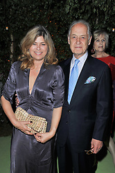 JOHN & SARAH STANDING at a dinner hosted by Cartier in celebration of the Chelsea Flower Show held at Battersea Power Station, 188 Kirtling Street, London SW8 on 23rd May 2011.