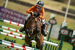Thijssen Mel, NED, Cartolana<br /> European Championship Children, Juniors, Young Riders - Fontainebleau 1028<br /> © Hippo Foto - Dirk Caremans<br /> Thijssen Mel, NED, Cartolana