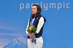 Women's Super G Medal Ceremony at the 2014 Sochi Winter Paralympic Games, Russia