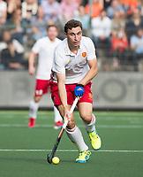 AMSTELVEEN - Harry Martin (Eng) during the poulematch England v Germany (men) 3-4,Rabo Eurohockey Championships 2017.  WSP COPYRIGHT KOEN SUYK