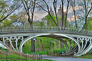 "Gothic Bridge, ""Reservoir Bridge West 94th Street"", New York, New York, Central Park, designed by Calvert Vaux"