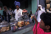 Tea stall in Ajmer, Rajasthan, India